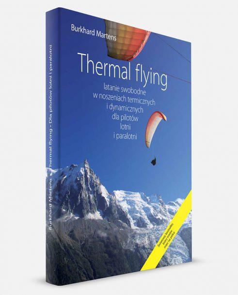 Thermal Flying - okładka polskiego wydania