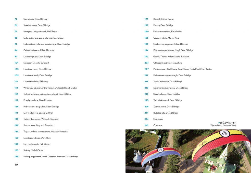 Motoparalotnie: niezbędnik pilota strony 10 i 11