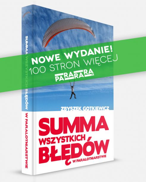 Summa wszytkich błędów w paralotniarstwie - okładka - pararara.pl